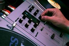 DJ melanżer Zdjęcie Stock