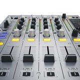 DJ melanżeru guziki Obraz Royalty Free