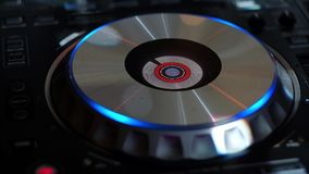 DJ mezcla el vídeo de la pista HD metrajes
