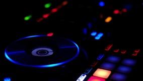 DJ mezcla el vídeo de la pista HD ilustración del vector