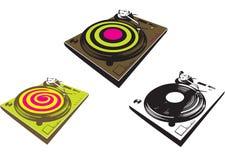 DJ-Mischer Stockbild