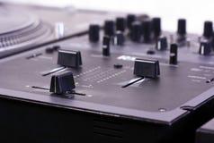DJ-Mischer lizenzfreie stockbilder