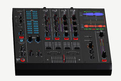 DJ mix console Stock Photos