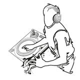 DJ Mix Stock Image
