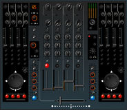 DJ mixer Royalty Free Stock Photography