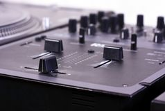 Dj Mixer royalty free stock images