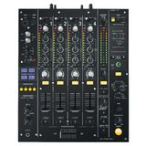 DJ Mixer black Royalty Free Stock Photography