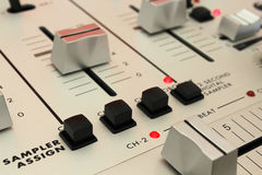 DJ Mixer - Digital Sampler Stock Photos