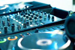 DJ mixer Royalty Free Stock Photos