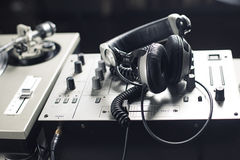 DJ mixer Stock Image