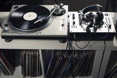 DJ mixer Stock Photography