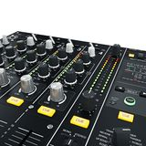 DJ Mixer illuminated Stock Images