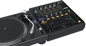 Dj mixer music equipment, close view Stock Images