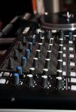 DJ mixer Royalty Free Stock Images