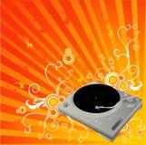 Dj mixer vector composition Royalty Free Stock Photo