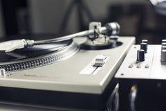 DJ mixer Royalty Free Stock Photography