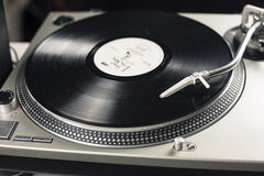 DJ mixer Royalty Free Stock Photo