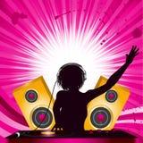 DJ and mixing deck Stock Photos
