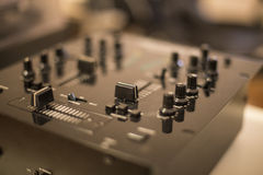 DJ mixing equipment Royalty Free Stock Photography