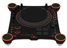 DJ mixing table Royalty Free Stock Image