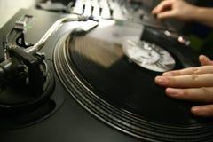 DJ moderno fotografia de stock