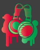dj hełmofony Obraz Stock