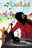 DJ music Stock Image