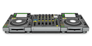 DJ music mixer Royalty Free Stock Photography