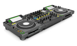 DJ music mixer Royalty Free Stock Images