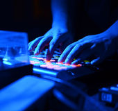 DJ Music night club Royalty Free Stock Photos
