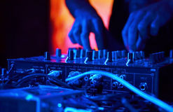 DJ Music night club Royalty Free Stock Images