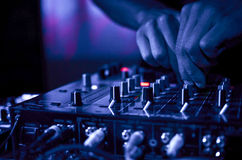 DJ Music night club Royalty Free Stock Photography