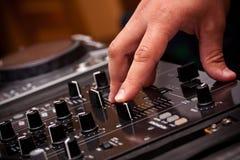 dj-musikspelrum Arkivbilder