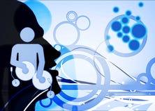 DJ na ação Foto de Stock Royalty Free