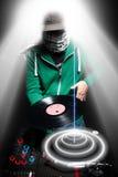 Świetlicowy DJ Zdjęcie Royalty Free