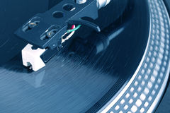 Dj needle Royalty Free Stock Photo