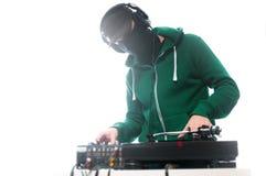 Klubba DJ Arkivbild