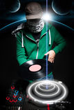 Klubba DJ Royaltyfria Foton
