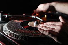 Dj Panel Music Royalty Free Stock Images