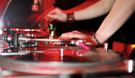 Dj Panel Music Stock Photo