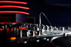 Dj Panel Music Royalty Free Stock Photos