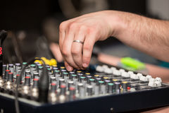 Dj Panel Music Stock Photos