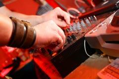 DJ-Panel-Musik Stockfotografie