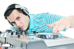 Dj party Stock Photos