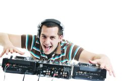 Dj party Royalty Free Stock Photo