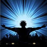 DJ party Stock Photo
