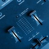 DJ performance mixer Stock Image
