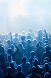 Dj performance in nightclub Stock Photo