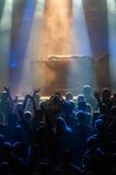 Dj performance in nightclub Stock Images