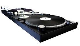 DJ-Plattformen Stockbilder